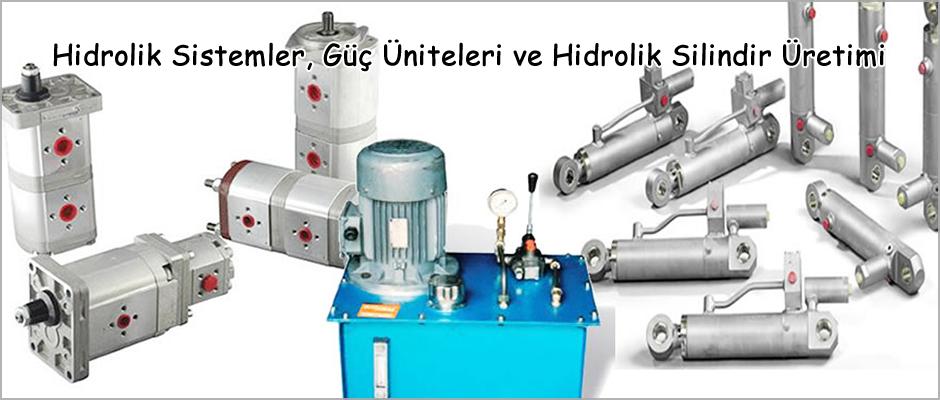 Hidrolik Sistemler, güç Üniteleri, Hidrolik Silindirler