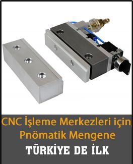 CNC Pnömatik Mengene Klemp